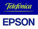 Logos Telefonica Epson