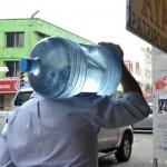 vendedores agua ciel